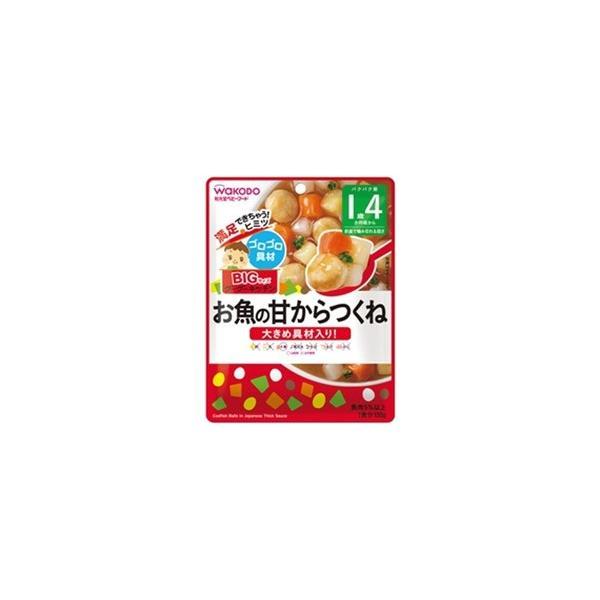 アサヒグループ食品 BIGサイズのグーグーキッチン お魚の甘からつくね (100g) 〔離乳食・ベビーフード〕 [振込不可]