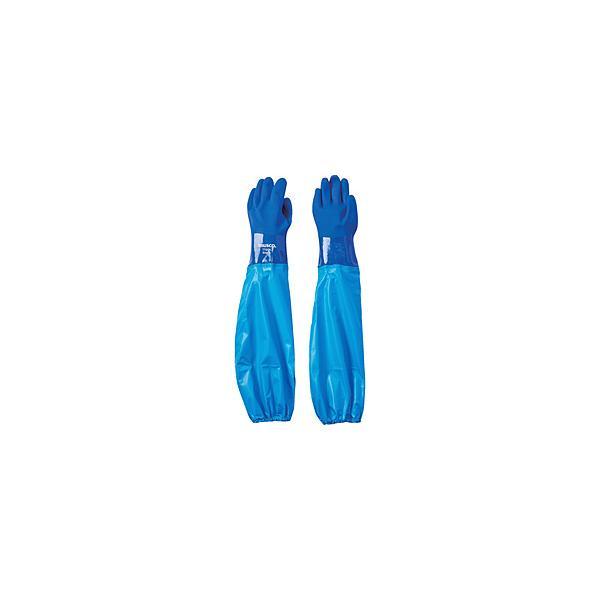 トラスコ中山 TRUSCO 腕カバー付耐油手袋 Lサイズ TTGC-L                              8539