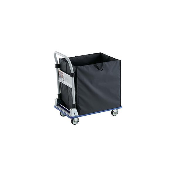 トラスコ中山 TRUSCO プレス製台車 ドンキーカート 折りたたみ式 CHBAハンドトラックボックス付 740×480