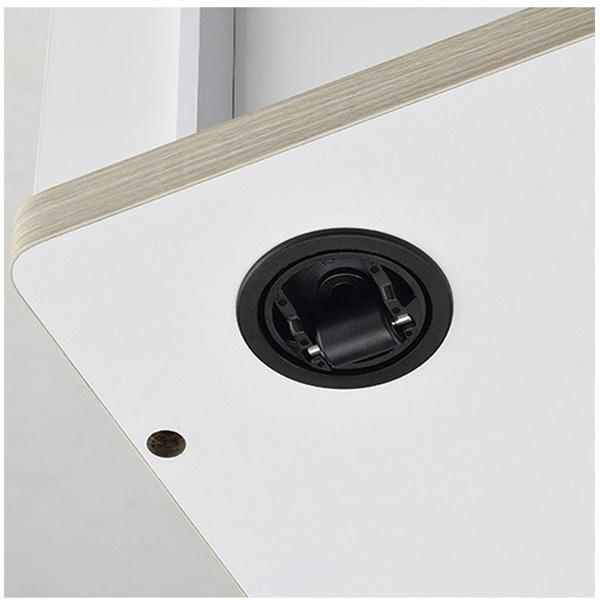 ハヤミ工産 テレビスタンド TV-SD1250W ホワイト