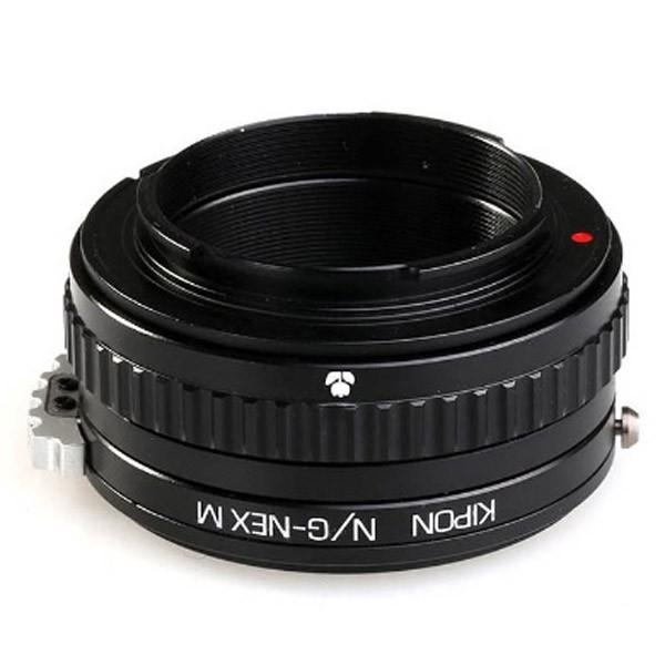 KIPON マウントアダプター NIK G-NEX M【ボディ側:ソニーE/レンズ側:ニコンF・Gタイプ】