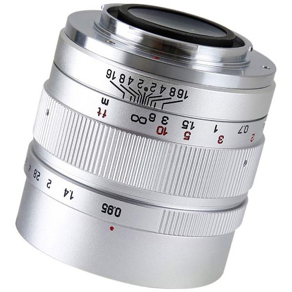 中一光学 カメラレンズ SPEEDMASTER 35mm F0.95 II(シルバー)【FUJIFILM Xマウント】
