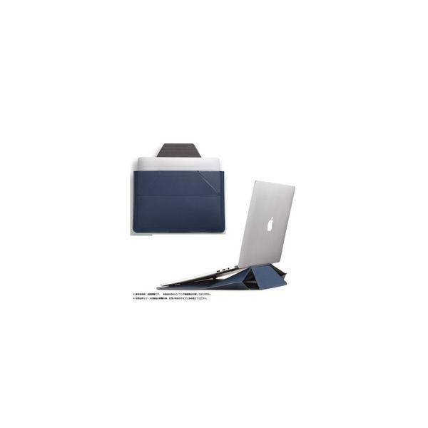 MOFT ノートパソコン対応[16インチ] Carry Sleeve スタンドにもなるキャリングケース  オックスフォード・ブルー MB002-1-1516-NAVY