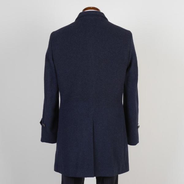 スタンドカラー コート メンズ ビジネスコート Mサイズ ウールSG-M 11000 GC35229|y-souko|04