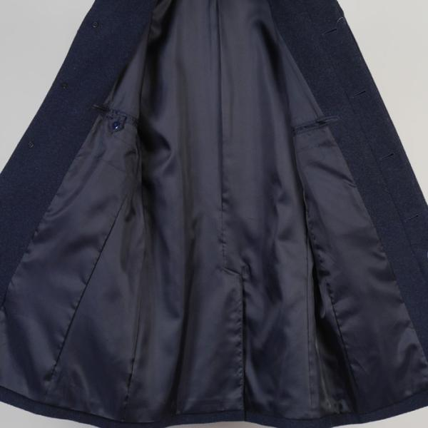 スタンドカラー コート メンズ ビジネスコート Mサイズ ウールSG-M 11000 GC35229|y-souko|05
