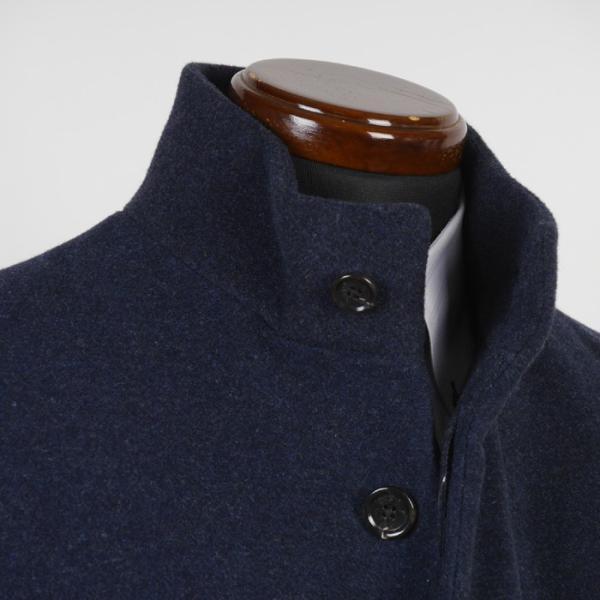 スタンドカラー コート メンズ ビジネスコート Mサイズ ウールSG-M 11000 GC35229|y-souko|06