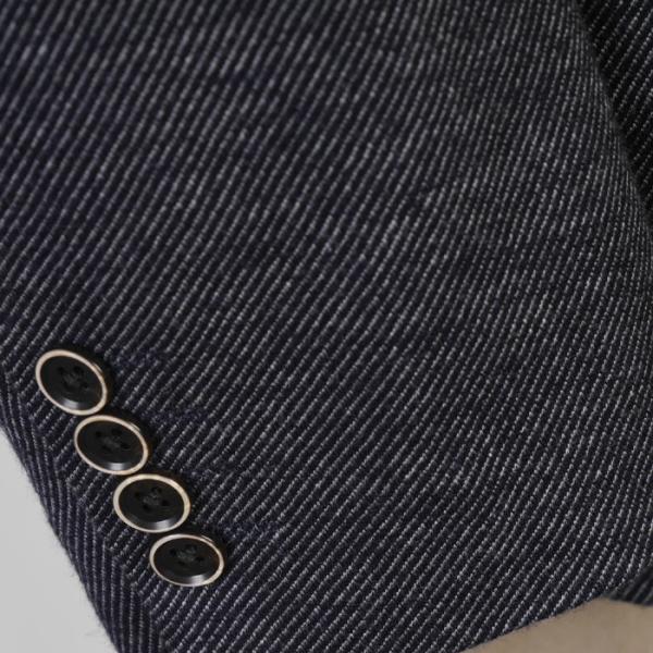 段返り3釦 テーラード ジャケット メンズ AB8サイズ 9000 GJ4006|y-souko|06