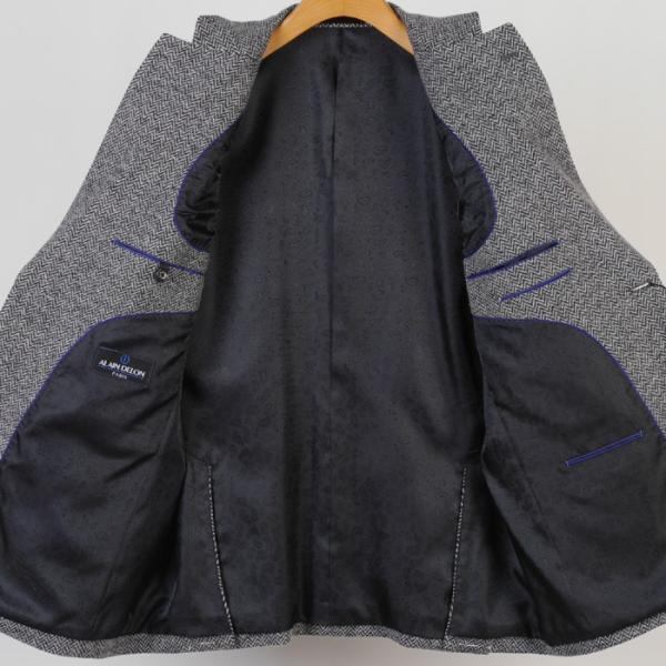 ALAIN DELON  アランドロンテーラード ジャケット メンズ BB5サイズ 12000 GJ4009|y-souko|05