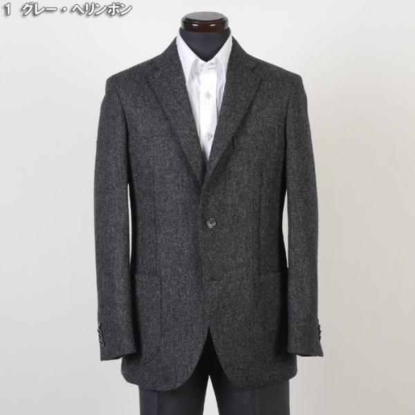 テーラード ジャケット メンズ英 MOON ウール100% L サイズ限定 全2柄 11000 GJ6003|y-souko|02
