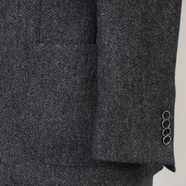 テーラード ジャケット メンズ英 MOON ウール100% L サイズ限定 全2柄 11000 GJ6003|y-souko|03