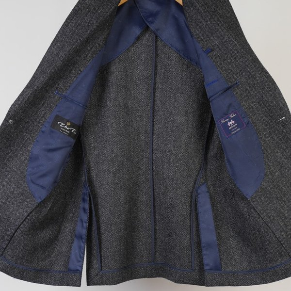 テーラード ジャケット メンズ英 MOON ウール100% L サイズ限定 全2柄 11000 GJ6003|y-souko|05