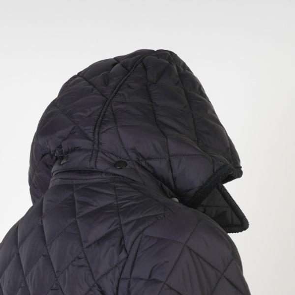 ステンカラー キルティングコート メンズ脱着式フード 軽量中綿 保温素材  全3色 7000 RC1601|y-souko|06