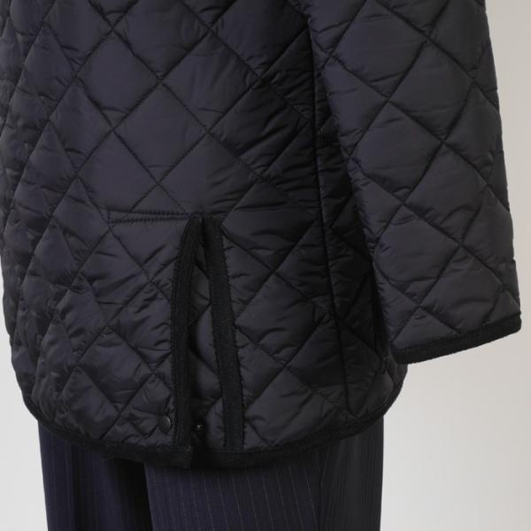 ステンカラー キルティングコート メンズ脱着式フード 軽量中綿 保温素材  全3色 7000 RC1601|y-souko|07