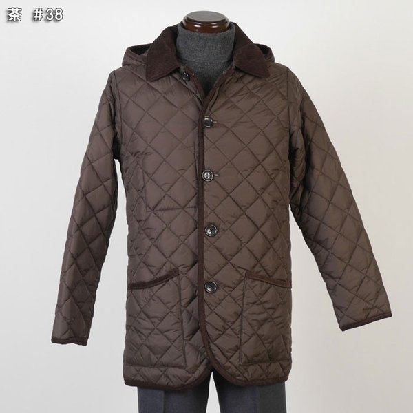 ステンカラー キルティングコート メンズ脱着式フード 軽量中綿 保温素材  全3色 7000 RC1601|y-souko|10