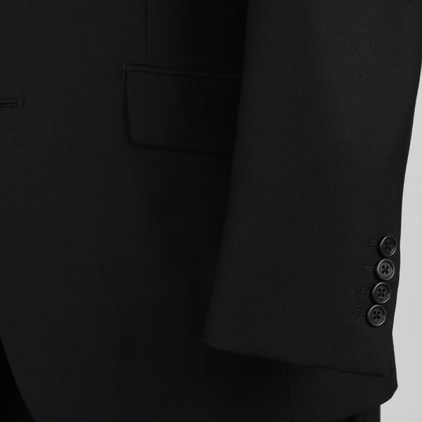 販売終了礼服RF6011−シングル2釦ノータックオールシーズン略礼服!オリジナルブランド「TheT」スリム礼服!安心ウエストアジャスター付き!|y-souko|03