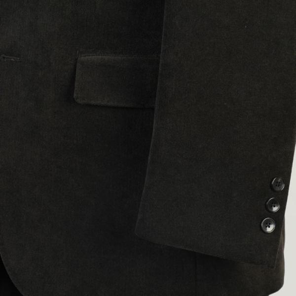 ジャケットRJ2001−テーラードジャケットベルベット調 ストレッチ素材|y-souko|03