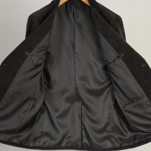 ジャケットRJ2001−テーラードジャケットベルベット調 ストレッチ素材|y-souko|05