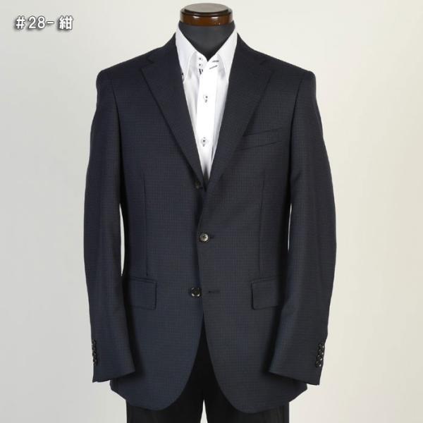 ジャケットRJ2011−シングル段返り3釦テーラードジャケットストレッチ素材 選べる2色 y-souko 02
