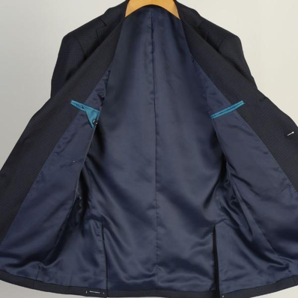 ジャケットRJ2011−シングル段返り3釦テーラードジャケットストレッチ素材 選べる2色 y-souko 04