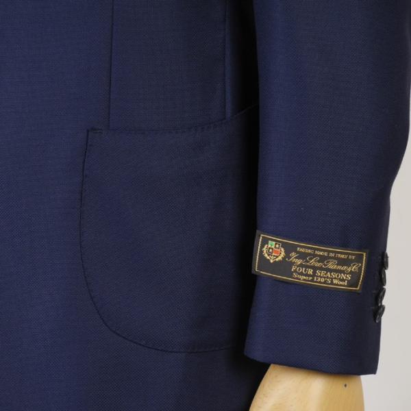 LoroPiana ロロピアーナ 社  FOUR SEASONS テーラード ジャケット メンズSuper130's Wool A体 AB体 27000 RJi5003|y-souko|03