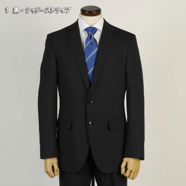 スーツ ビジネススーツ メンズ ノータック 春夏 ビジネス 紳士 スリム タックなし Y体 A体 AB体 BB体 rs3001|y-souko|02