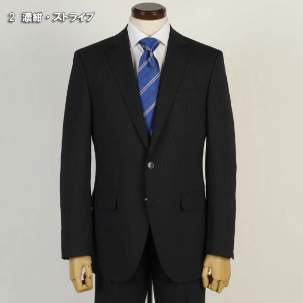 スーツ ビジネススーツ メンズ ノータック 春夏 ビジネス 紳士 スリム タックなし Y体 A体 AB体 BB体 rs3001|y-souko|09