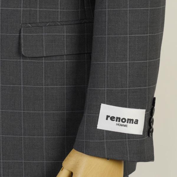 スーツ レノマ ノータック スリムスーツ メンズ Y体 AB体 全3柄 19000 RSi3031 y-souko 03