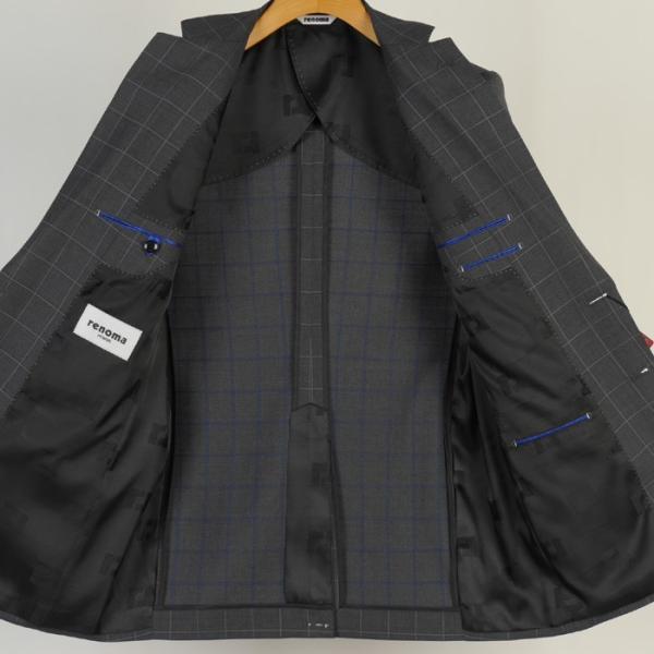 スーツ レノマ ノータック スリムスーツ メンズ Y体 AB体 全3柄 19000 RSi3031 y-souko 05