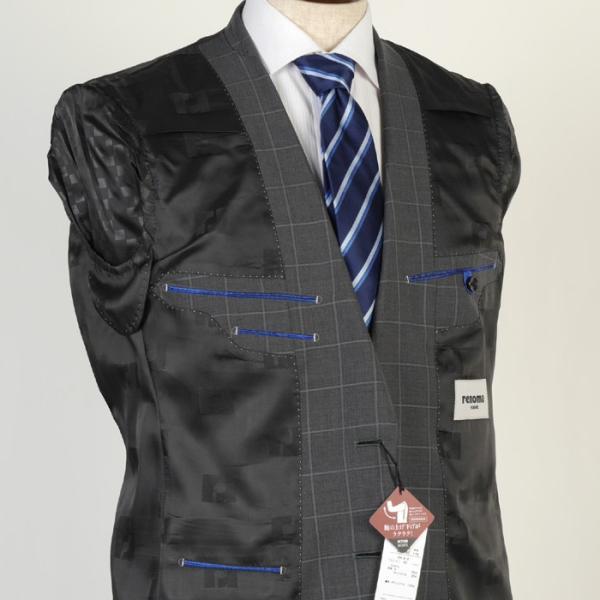 スーツ レノマ ノータック スリムスーツ メンズ Y体 AB体 全3柄 19000 RSi3031 y-souko 09