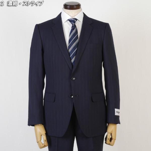 スーツ レノマ ノータック スリムスーツ メンズ Y体 AB体 全3柄 19000 RSi3031 y-souko 10