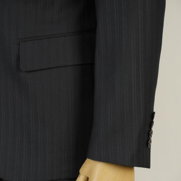 フィッチェ シングル段返り3釦ノータック スリムスーツ メンズ 日本製生地 Y体 A体 AB体全4柄 19000 RSi3038|y-souko|03
