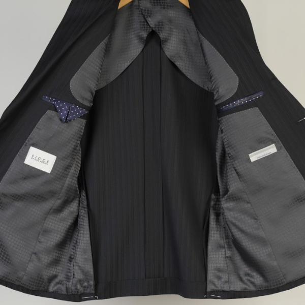 フィッチェ シングル段返り3釦ノータック スリムスーツ メンズ 日本製生地 Y体 A体 AB体全4柄 19000 RSi3038|y-souko|05
