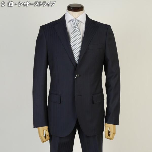フィッチェ シングル段返り3釦ノータック スリムスーツ メンズ 日本製生地 Y体 A体 AB体全4柄 19000 RSi3038|y-souko|10