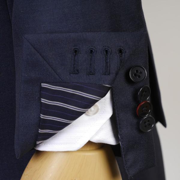 3ピース ノータック スリム ビジネススーツ メンズリバーシブルジレ 16000 RS4021 y-souko 13