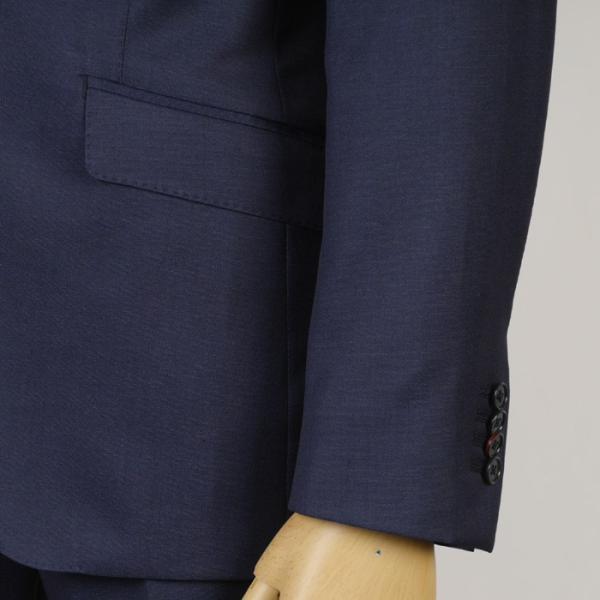 3ピース ノータック スリム ビジネススーツ メンズリバーシブルジレ 16000 RS4021 y-souko 03