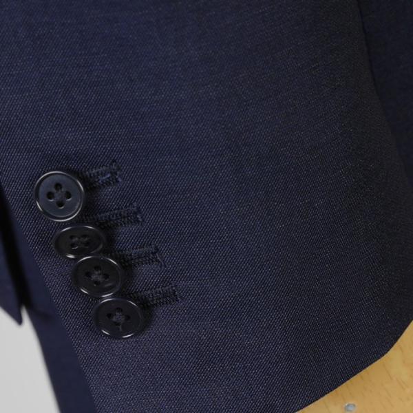 3ピース ノータック スリム ビジネススーツ メンズリバーシブルジレ 16000 RS4021 y-souko 08