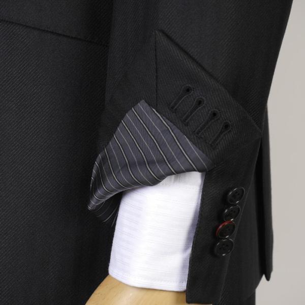 3ピース ノータック スリム ビジネススーツ メンズリバーシブルベスト 16000 RS4022|y-souko|13
