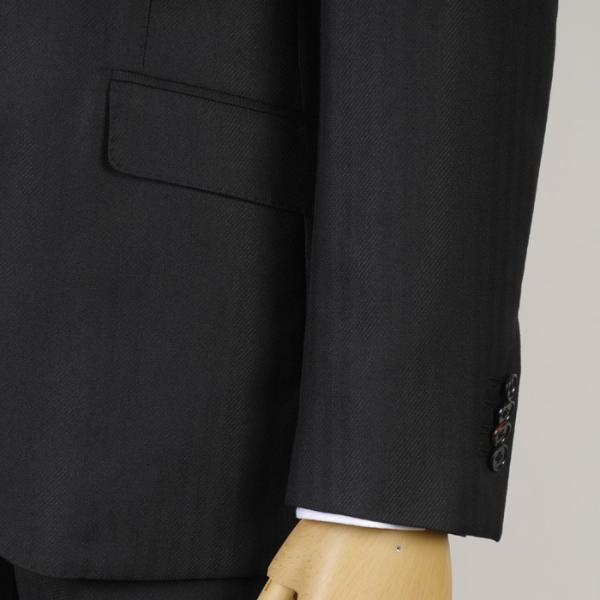 3ピース ノータック スリム ビジネススーツ メンズリバーシブルベスト 16000 RS4022|y-souko|03