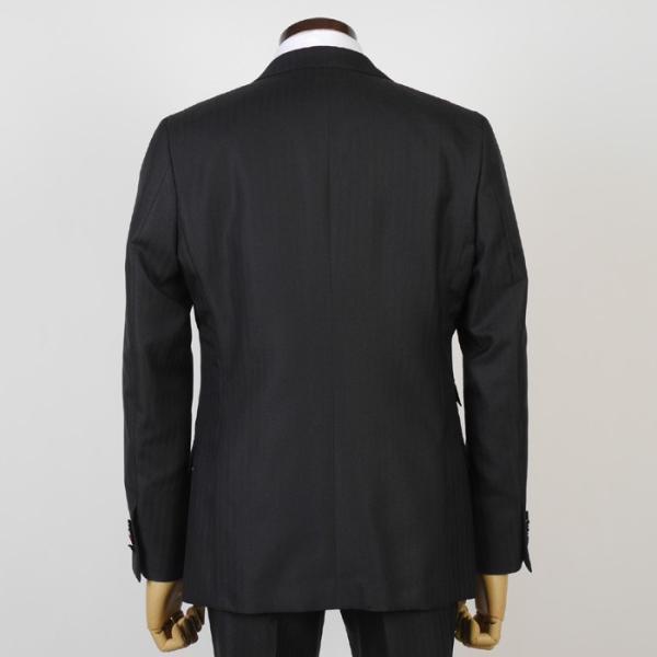3ピース ノータック スリム ビジネススーツ メンズリバーシブルベスト 16000 RS4022|y-souko|04