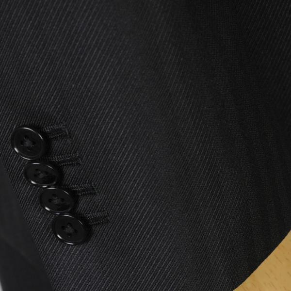 3ピース ノータック スリム ビジネススーツ メンズリバーシブルベスト 16000 RS4022|y-souko|08