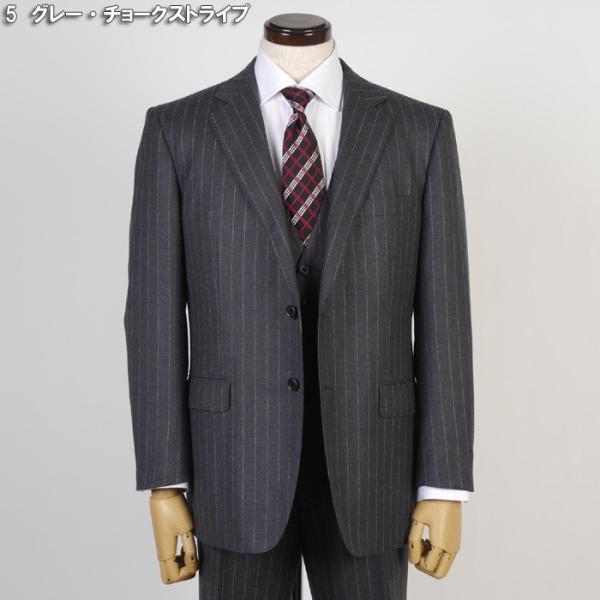 3ピース 1タック ビジネススーツ メンズウール100%素材 AB体 全5柄  チェック/ストライプ/ドット 19000 RS4108|y-souko|18