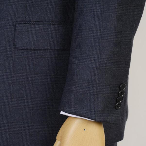 3ピース 1タック ビジネススーツ メンズウール100%素材 AB体 全5柄  チェック/ストライプ/ドット 19000 RS4108|y-souko|03