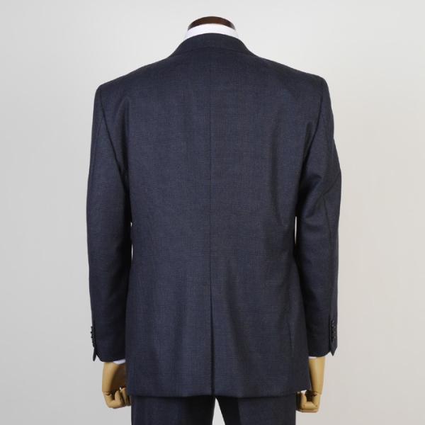 3ピース 1タック ビジネススーツ メンズウール100%素材 AB体 全5柄  チェック/ストライプ/ドット 19000 RS4108|y-souko|04