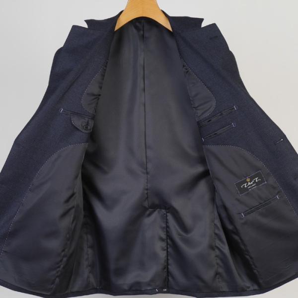 3ピース 1タック ビジネススーツ メンズウール100%素材 AB体 全5柄  チェック/ストライプ/ドット 19000 RS4108|y-souko|05
