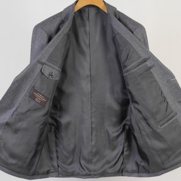 CANONICO カノニコ スーツ ビジネス メンズ 1タック カシミヤ Super120's ウール A体/AB体/BB体 18000 RS4110|y-souko|02