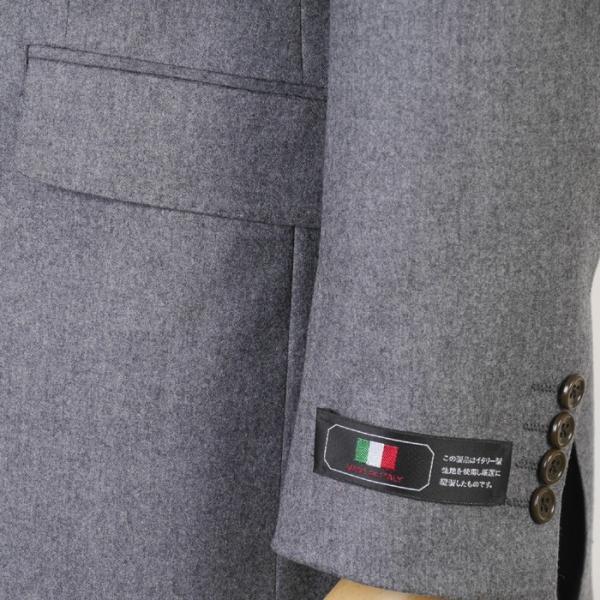 CANONICO カノニコ スーツ ビジネス メンズ 1タック カシミヤ Super120's ウール A体/AB体/BB体 18000 RS4110|y-souko|03