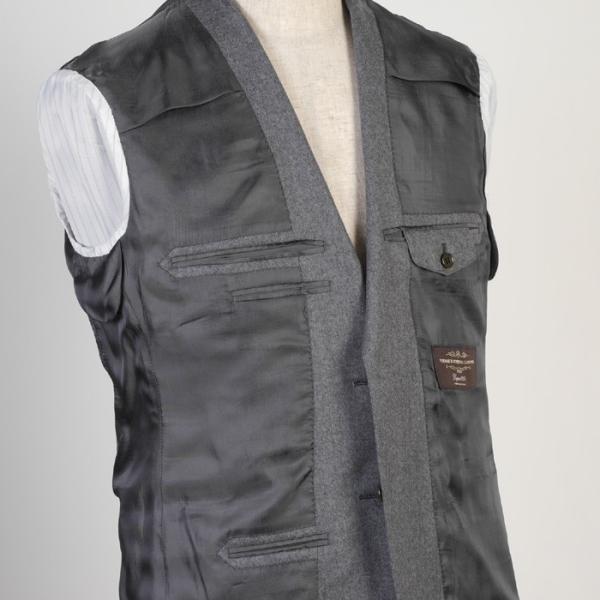 CANONICO カノニコ スーツ ビジネス メンズ 1タック カシミヤ Super120's ウール A体/AB体/BB体 18000 RS4110|y-souko|06