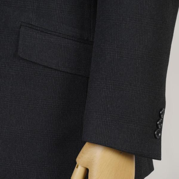 秋冬 アスリート スポーツマン専用設計 ビジネススーツ メンズ ストレッチ ウォッシャブル A体 AB体 BB体 全2柄 13000 RS4121|y-souko|03
