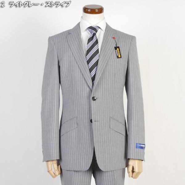 Y体  COOL MAX ノータック スリム ビジネス スーツ メンズ軽い 涼しい 型崩れに強い実用モデル 全4柄 9000 RS7005y|y-souko|02