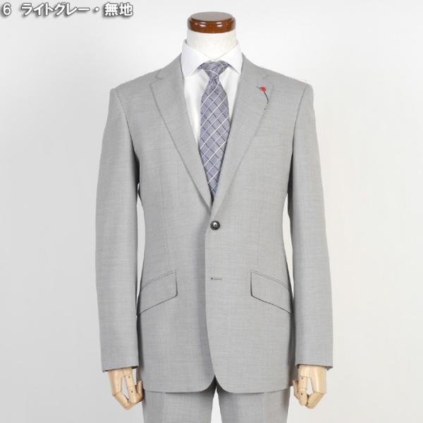 Y体  COOL MAX ノータック スリム ビジネス スーツ メンズ軽い 涼しい 型崩れに強い実用モデル 全4柄 9000 RS7005y|y-souko|13